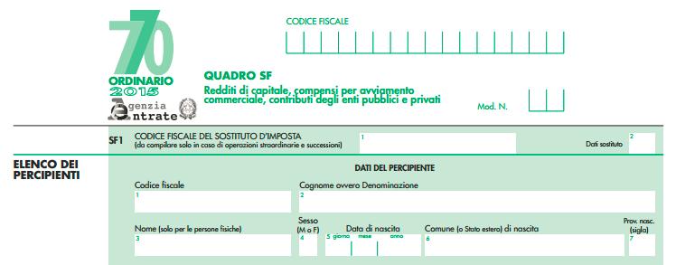 Cia confederazione italiana agricoltori chieti pescara for Scadenza modello 770