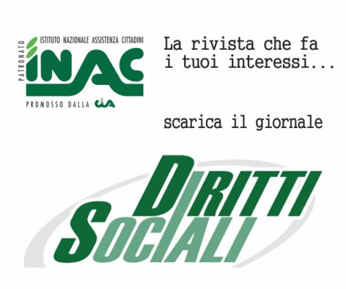 INAC diritti sociali la rivista che fa i tuoi interessi ...